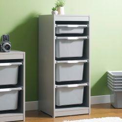 Kreo-GRY-GRY-4  Storage Box