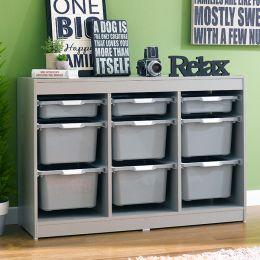 Kreo-GRY-GRY-9  Storage Box
