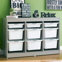 Kreo-GRY-WHT-9  Storage Box