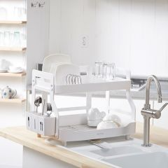 Euro System-2-Wide  Dish Rack