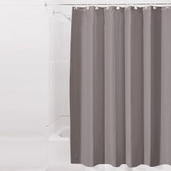 14697ES  Liners Shower Curtain-Dark Taupe