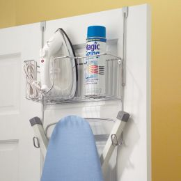 38079ES  Ironing Board Holder w/ Basket