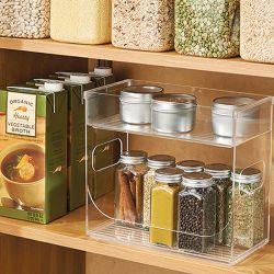 68530ES  Linus Cabinet Binz Spice Rack