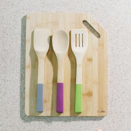 12969-LK  Bamboo Utensil Set  (3 Pcs 포함)