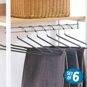 HW5187-Grey  Clothes Hanger (6 Pcs 포함)