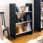 HB-80-3-3  3-Shelf Bookcase