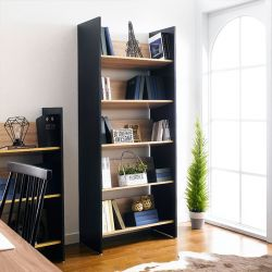 HB-80-5-5  5-Shelf Bookcase