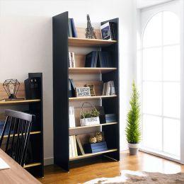 HB-80-5-5  5-Shelf Bookcase