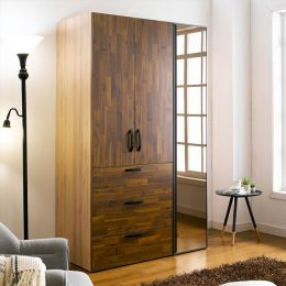 WD-200C-AA-Mirror  Double Closet