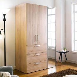 WD-200C-OO-Mirror  Double Closet