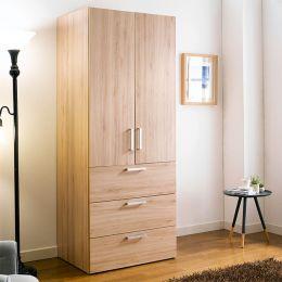 WD-200C-OO  Single Closet w/ 3-Drawer