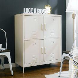 LLC-112-White  Metal Cabinet
