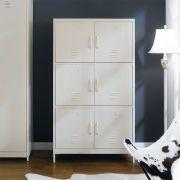 LLC-160-White  Metal Cabinet
