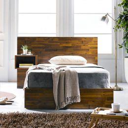 Signature-Q-300  Queen Bed w/ Head & NS