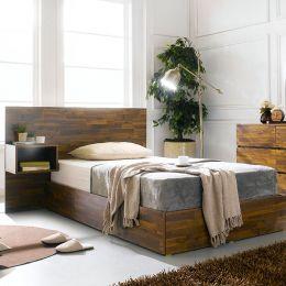 Signature-Q-301  Queen Bed w/ Head & NS