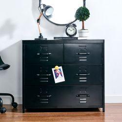LLC-073-Black  Metal Cabinet