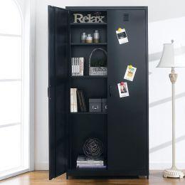 LLC-189-Black  Metal Cabinet
