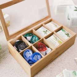 G14-BX034  Bamboo Tea Box