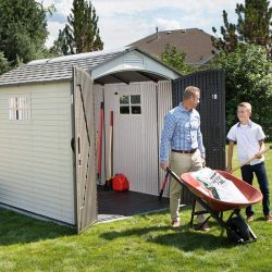 60252  Outdoor Storage Shed