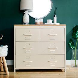(0) LLC-073A-White  Metal Cabinet