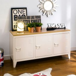 (0) TVC-008-White  TV Stand