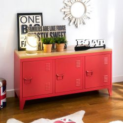 (0) TVC-008-Red  TV Stand