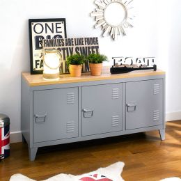 (0) TVC-008-Grey  TV Stand