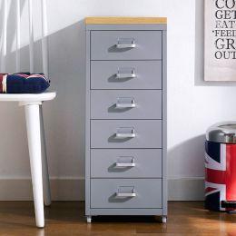 (0) LLC-Z6B-Gray  Metal Cabinet