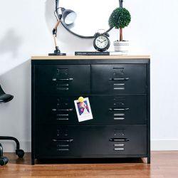 (0) LLC-073-Black  Metal Cabinet