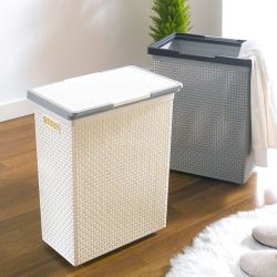 Saan-HH-Cream  Laundry Basket