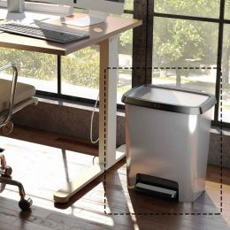 Compatta Style-Steel Trash Bin