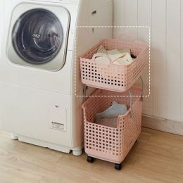 LB-07A-PK  Stacking Basket-Top
