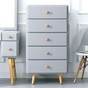Rora-5DR-Grey  5-Drawer Dresser