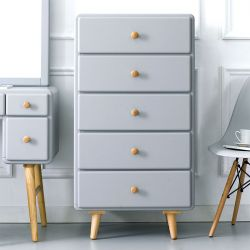 Rora-5DR-Grey  5-Drawer Dresser