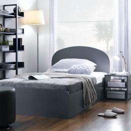 SSB-1100-Grey  Super Single Bed
