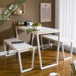 Robe-4-Ivy-White-2B  Dining Set  (23t)