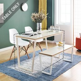 Robe-Ivy-White-TBL  Dining Table  (23t)  (Table Only)