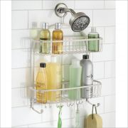 62085EJ  York Lyra Jumbo Shower Caddy