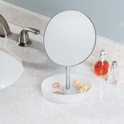 09563EJ  Gina Vanity Mirror-Rotating Tray