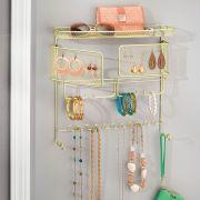 07186EJ  Wall Mount Jewelry Organizer