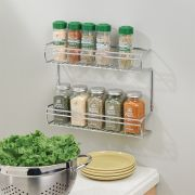 48880EJ  Classico Wall Mount Spice Rack-2 Shelves