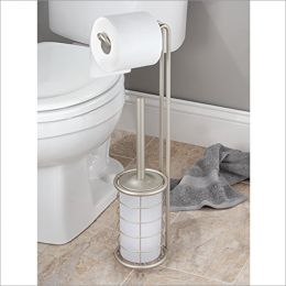 28865EJ  Paper Stand & Bowl Brush