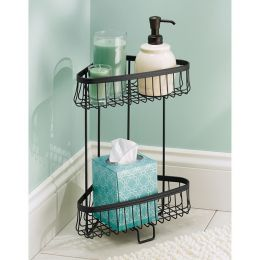 62857EJ  York Lyra 2 Tier Shower Shelf