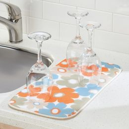 40730EJ  iDry Kitchen Mat Floral - Mini 18