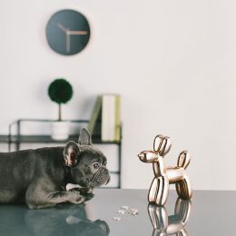 Crazy Dog-Copper Coin Bank  (Big Size)