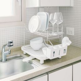 Simple-System-2-Wide  Dish Rack