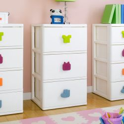 SP-930  3-Drawer Chest w/ Casters
