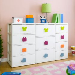 SP-840/930/740   11-Drawer Dresser w/ Casters
