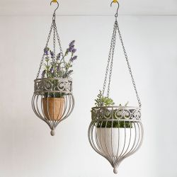 PL08-7649  Hanging Planter Holder  (2 Pcs 포함)