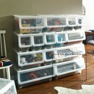 LF-609-L  Stackable Storage Box